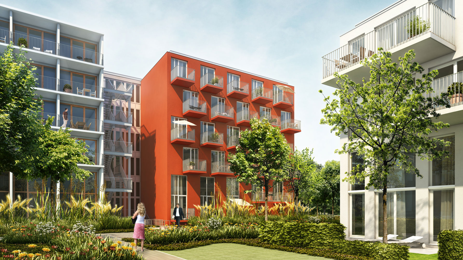 Studiomuc service apartments m nchen atelier8 barbara - Architekturburo frankfurt ...